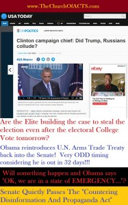 Are the Globalist Elite Setting Up A Situation To Steal The Election?