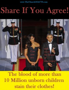 The Obama Blood Of 10 Million Innocent Children