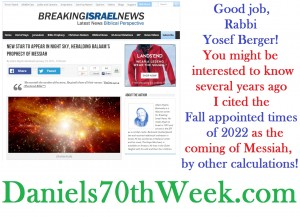 Supernova Collision 2022 Messiah Coming