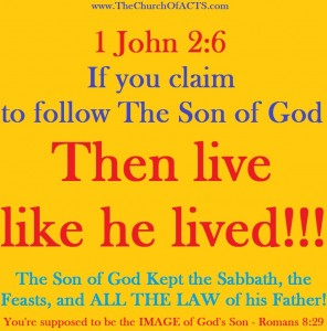 1 John 2:6 – Live Like God's Son Lived