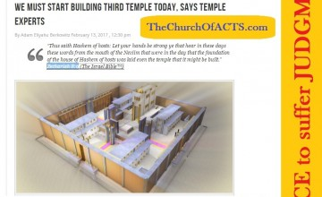 BuildThirdTempleTodayHosea4-6