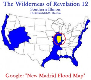 New Madrid Flood Map – The Wilderness of Revelation 12