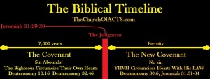 The Biblical Timeline – Covenant and New Covenant