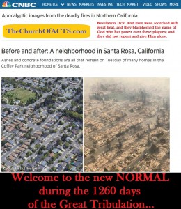 California Wildfires, The New Normal For 1260+ Days