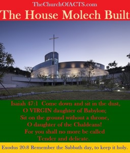 The House Molech Built With False Theology 1