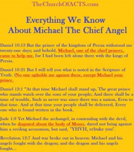 All We Know About Michael The Chief Angel