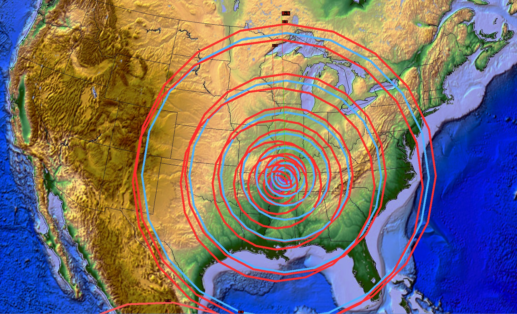 New madrid fault line predictions 2015 - Other Predictive Maps And Geology Pictures I Found On The Internet