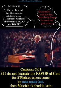 Galatians 2:21 Do NOT Frustrate The FAVOR OF God