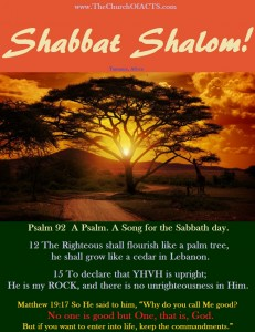 Keep The Sabbath – Obey The Gospel