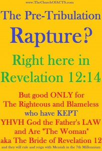 The Pre-Great Tribulation Rapture (Catching Away)