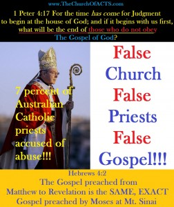 Catholic Priests Preach FALSE Gospel!!!