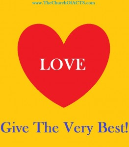 Give The Very Best LOVE!