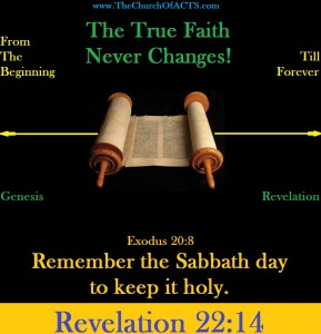 The True Faith Never Changes!