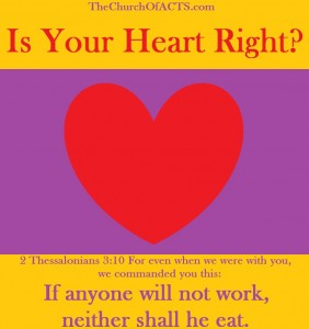 """The Lord Knows My Heart"" – Is Your Heart RIGHT?"