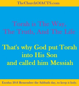 Messiah Equals TheWord and Torah Equals Messiah