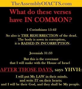 ResurrectionNewCovenant1Corinthians15-42Jeremiah31-33