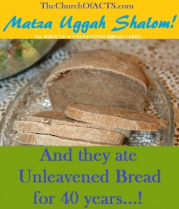 40 Years Of Unleavened Bread