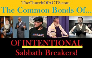 """torah"" Teachers Who AGREE to Break The Sabbath"